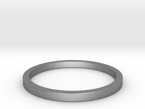 Minimalist Spacer Ring (just under 2mm) Size 5 in Natural Silver