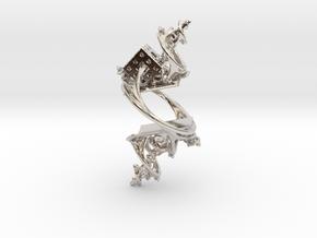 Cosmographic Overdose - Finger Ornament - 20mm in Platinum