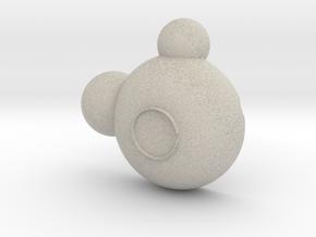 Mickey Bowl in Natural Sandstone