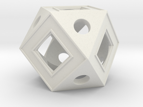 Holocron Core Window in White Strong & Flexible