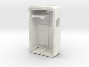 MARK IX -Meccanica-body in White Natural Versatile Plastic