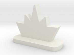 Blastmarker in White Natural Versatile Plastic