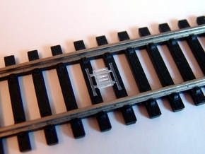 Train Protection Warning System: Buffer Stop Grids in Frosted Ultra Detail