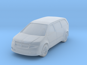 "Minivan at 1""=16' Scale in Smooth Fine Detail Plastic"