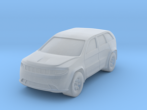 "SUV at 1""=8' Scale in Smooth Fine Detail Plastic"