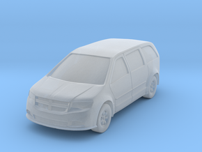 "Minivan at 1""=10' Scale in Smooth Fine Detail Plastic"