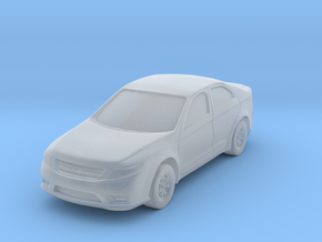 "Car at 1""=10' Scale in Smooth Fine Detail Plastic"