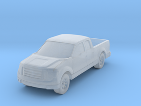 "Truck At 1""=16' Scale in Smooth Fine Detail Plastic"