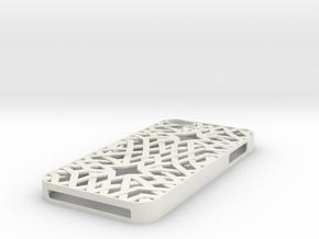 Iphone5 Casing in White Natural Versatile Plastic