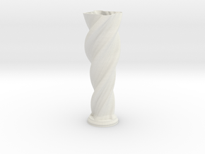 "Vase 'Anuya' - 40cm / 15.75"" in White Natural Versatile Plastic"