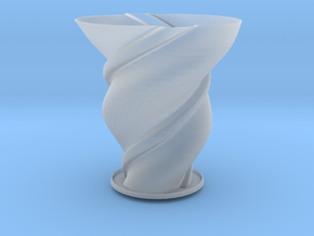 "Vase 'Big Anuya' - 10cm / 4"" in Smooth Fine Detail Plastic"