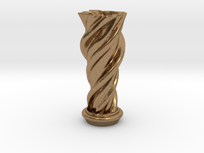 "Vase 'Mini Anuya' - 5cm / 2"" in Natural Brass"