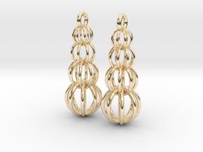 Earrings in 14K Yellow Gold