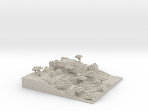 Minecraft 1.8 Map Savannah Village season 1  in Natural Sandstone