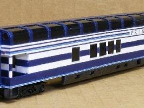 N Scale Rocky Mountaineer B Series 6'9 Platform in Smooth Fine Detail Plastic