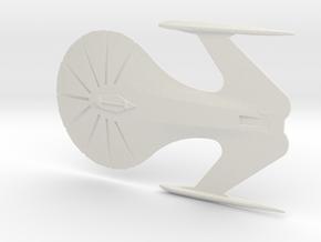 Insignia Class Starship in White Natural Versatile Plastic