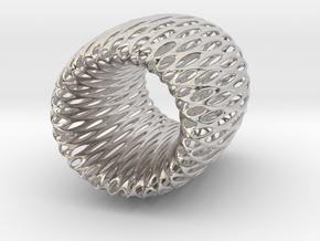 Torus Pendant in Platinum