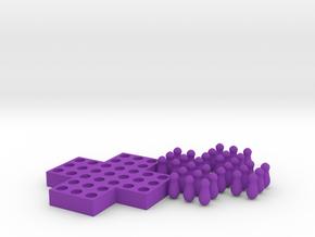 Senku in Purple Processed Versatile Plastic