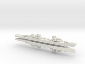 Z-40 (Spahkreuzer) 1/1800 in White Strong & Flexible