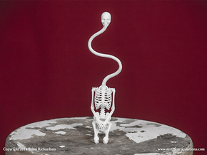 Rokurokubi Skeleton in White Strong & Flexible