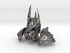 Lich King style armor in Polished Nickel Steel