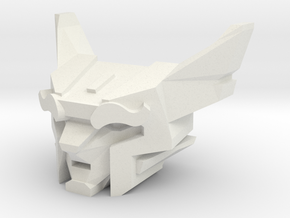 Feral Building Leader for Print (5mm port) in White Natural Versatile Plastic