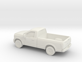 1/87 2015 Ford F 150 Reg.Cab in White Natural Versatile Plastic