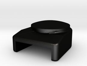 SYS-POSTLIGHT-Deckel in Matte Black Steel