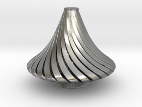 Exotic antique Lamp  in Natural Silver