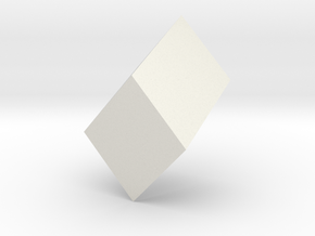Monoclinic prism in White Strong & Flexible