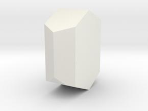 Orthoclase 2 in White Natural Versatile Plastic