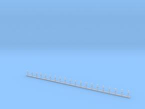 Stabblaulichter MODERN Ahnlich Roco Größe in Smooth Fine Detail Plastic