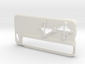 Structure Sensor Case - iPhone 6 by Max Tönnemann in White Natural Versatile Plastic