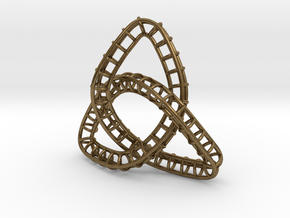 Triquetra Frame in Natural Bronze