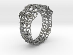 PAN Bracelet D64 RE115s3A10m25M45FR011-plastic in Natural Silver