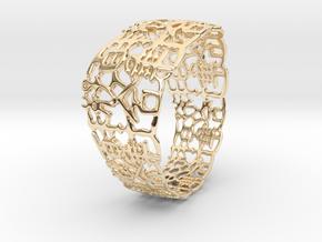 PAN Bracelet D64 RE115s1A10m25M45FR002-plastic in 14K Yellow Gold