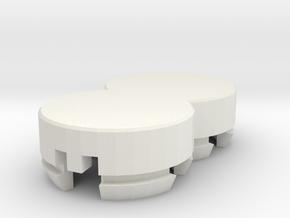 Chamber for SZ 342 speaker in White Natural Versatile Plastic