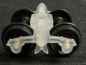 HOT02s x8 Live Spring Trucks, 1840-1860 in Smooth Fine Detail Plastic