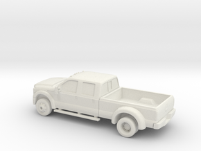 1(87 2010 Ford F 3500 K Ranch  in White Natural Versatile Plastic