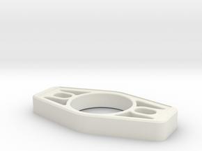 Volkswagen Short Shift Plate in White Natural Versatile Plastic
