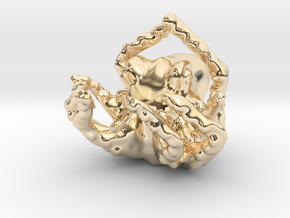 OctoPendant in 14K Yellow Gold