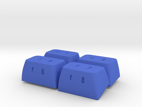F-Keys Kit for C64C in Blue Strong & Flexible Polished
