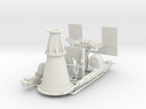 Twin Oerlicon 1/24 Scale in White Natural Versatile Plastic