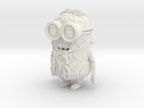Spiderminion in White Natural Versatile Plastic