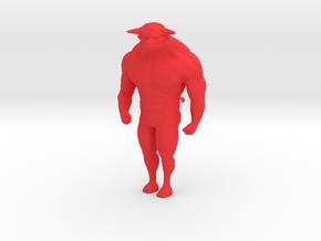 Taurus in Red Processed Versatile Plastic