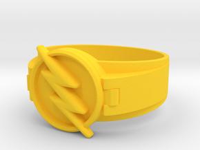 Reverse Flash Size 12 21.50mm  in Yellow Processed Versatile Plastic