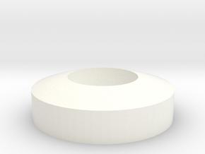 Ring in White Processed Versatile Plastic