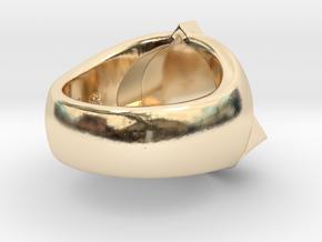 Saint Vitus Ring Size 10 in 14K Yellow Gold