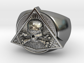 Saint Vitus Ring Size 6 in Polished Silver