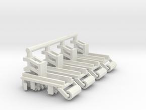 1/64 Row Incorporator Bed Conditioner, Set of 4 in White Natural Versatile Plastic